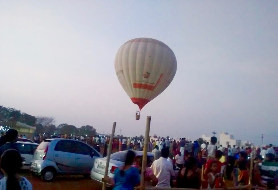hot air balloon festival coimbatore