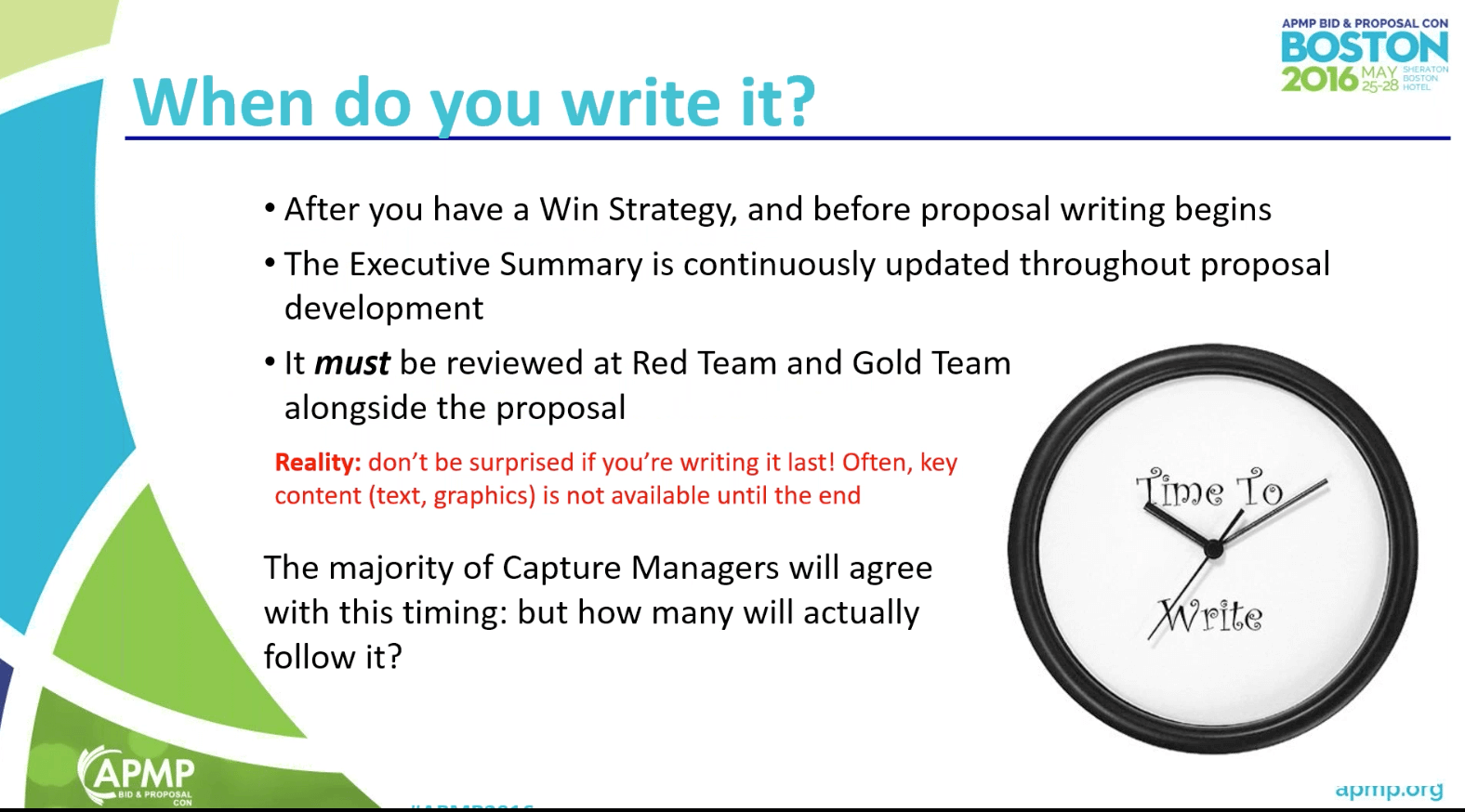 Request For Proposal Content  Best Executive Summary
