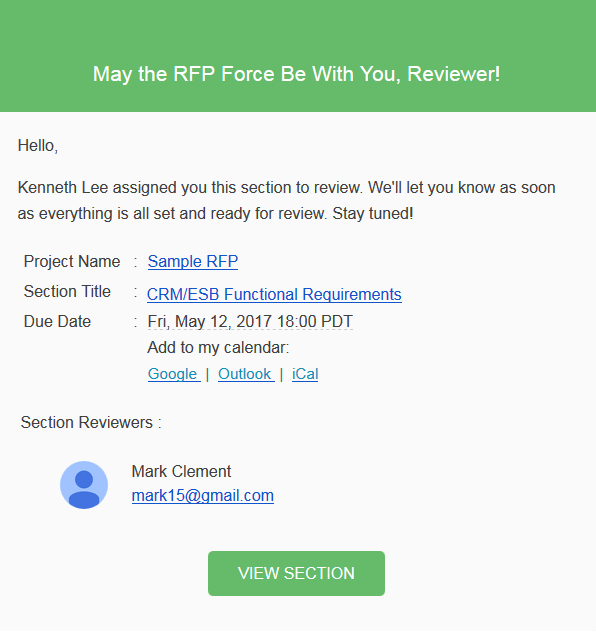 alert email rfpio review