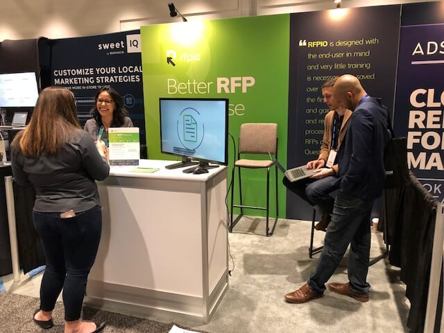 RFPIO_MarTech Booth