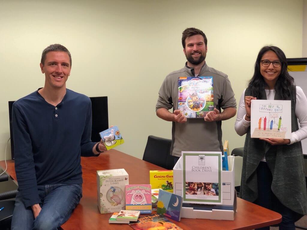 RFPIO Team Children's Book Bank