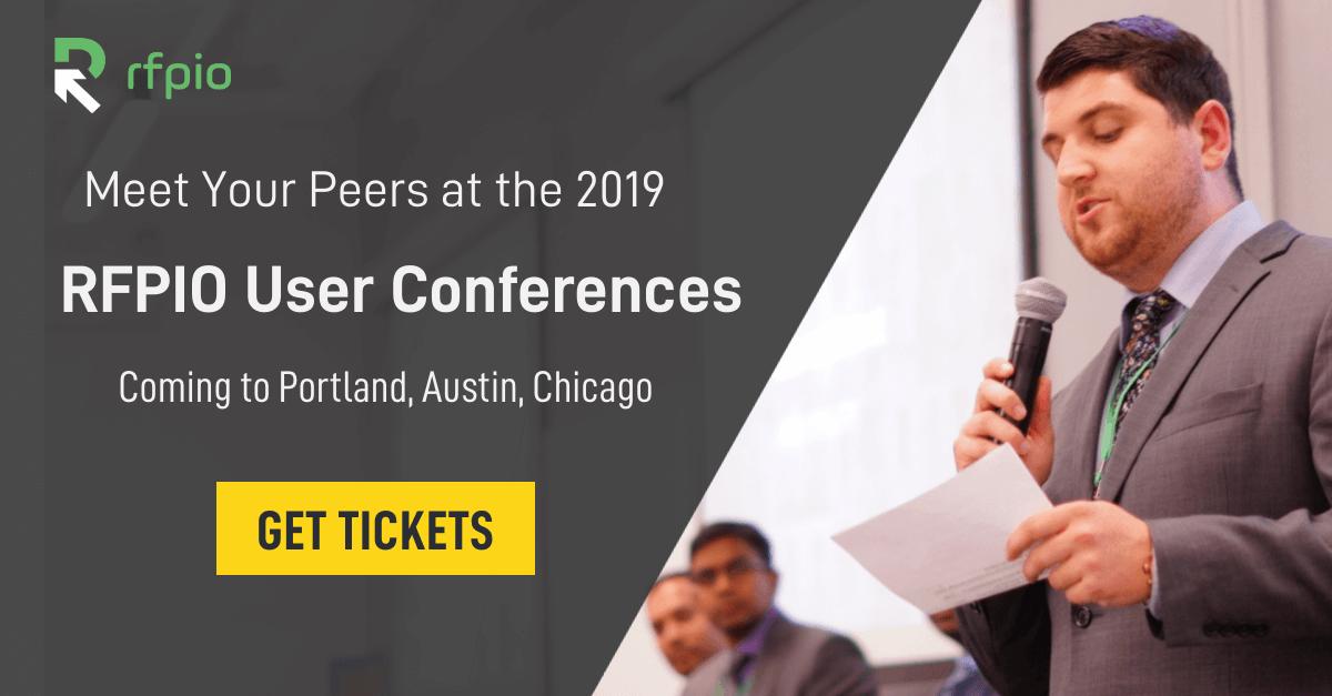 RFPIO User Conference 2019