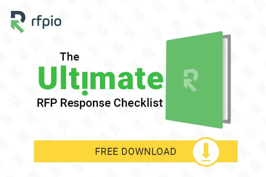 rfp response checklist